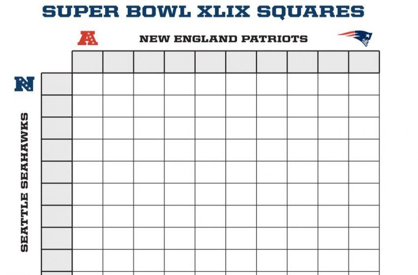 Super Bowl Squares Fund Final East Coast Elite
